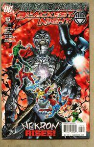 Blackest-Night-5-2010-nm-9-2-DC-Geoff-Johns-Green-Lantern-2nd-Variant-Cover