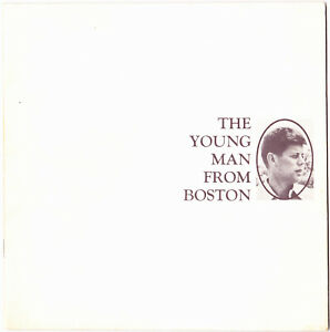 1962 The Young Man From Boston ~ John F. Kennedy Pictorial Album ~ PLYMOUTH CAR