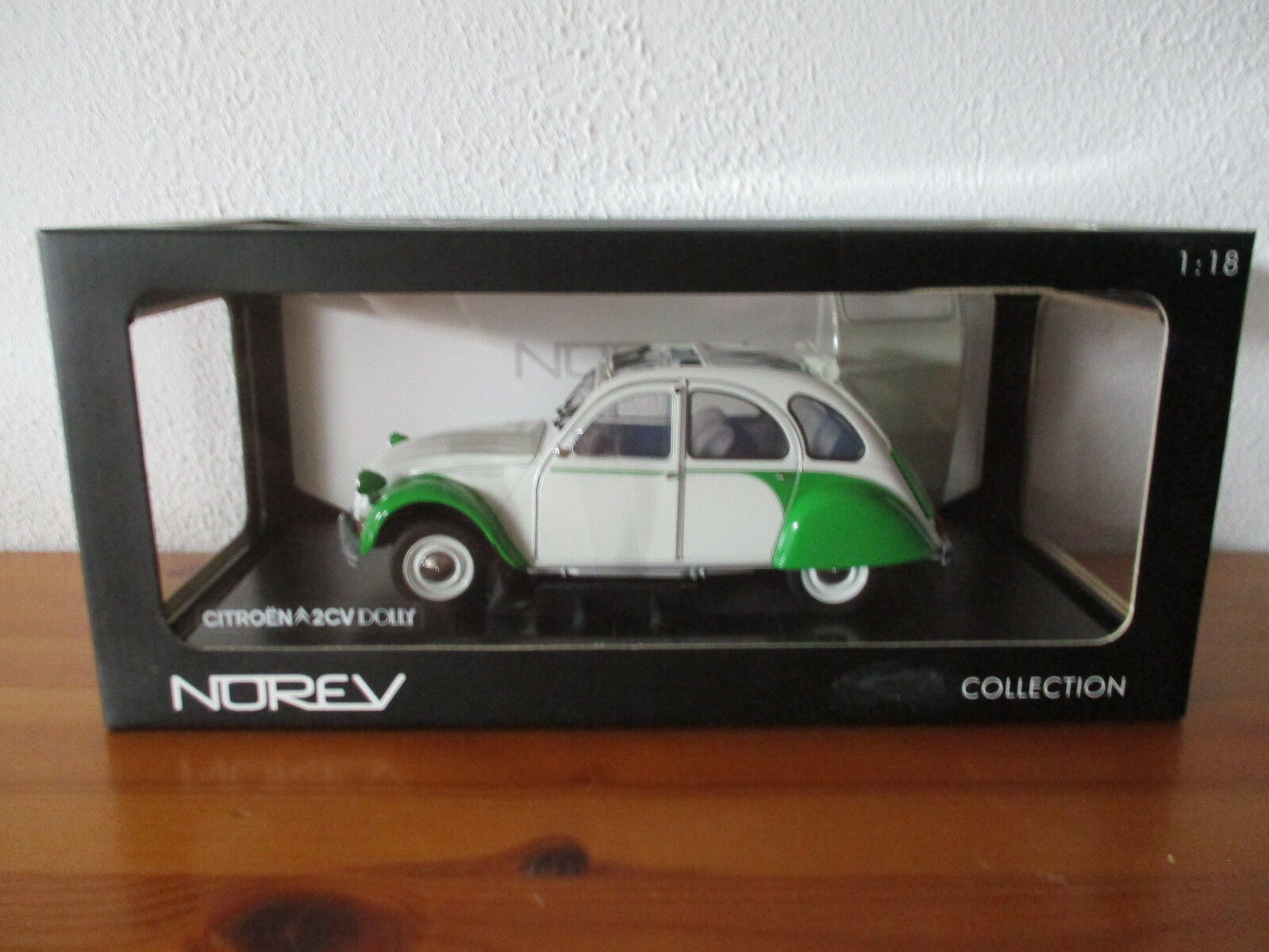 (Go) 1 18 Norev Citroen 2 Cv Dolly New Sealed