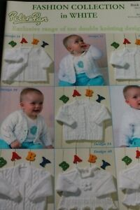 87a680721 Peter Pan Fashion collection baby knitting pattern booklet 277