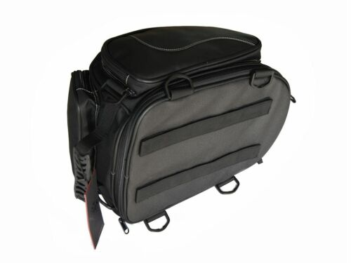 Erweiterbar Benutzerdefiniert Heck Tasche für Harley Davidson /& Cruiser Motorrad