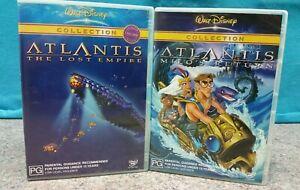 DISNEY-DOUBLE-DVD-ATLANTIS-THE-LOST-EMPIRE-MILO-039-S-RETURN-PAL