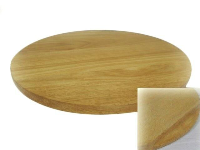 Rotating Board Lazy Susan Round Circular Wooden Plywood Serving Pizza 70 cm