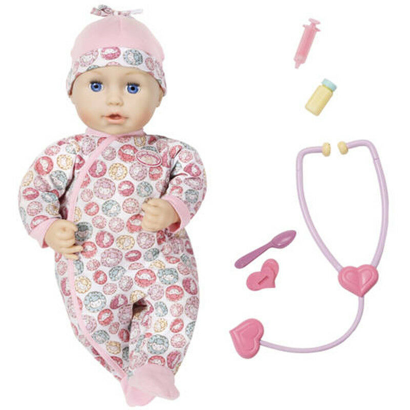 Baby Annabell Milly Feels Better 43cm Doll & Accessories NEW