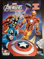 Marvel Jumbo Coloring And Activity Book Allies The Avengers Iron Man Thor