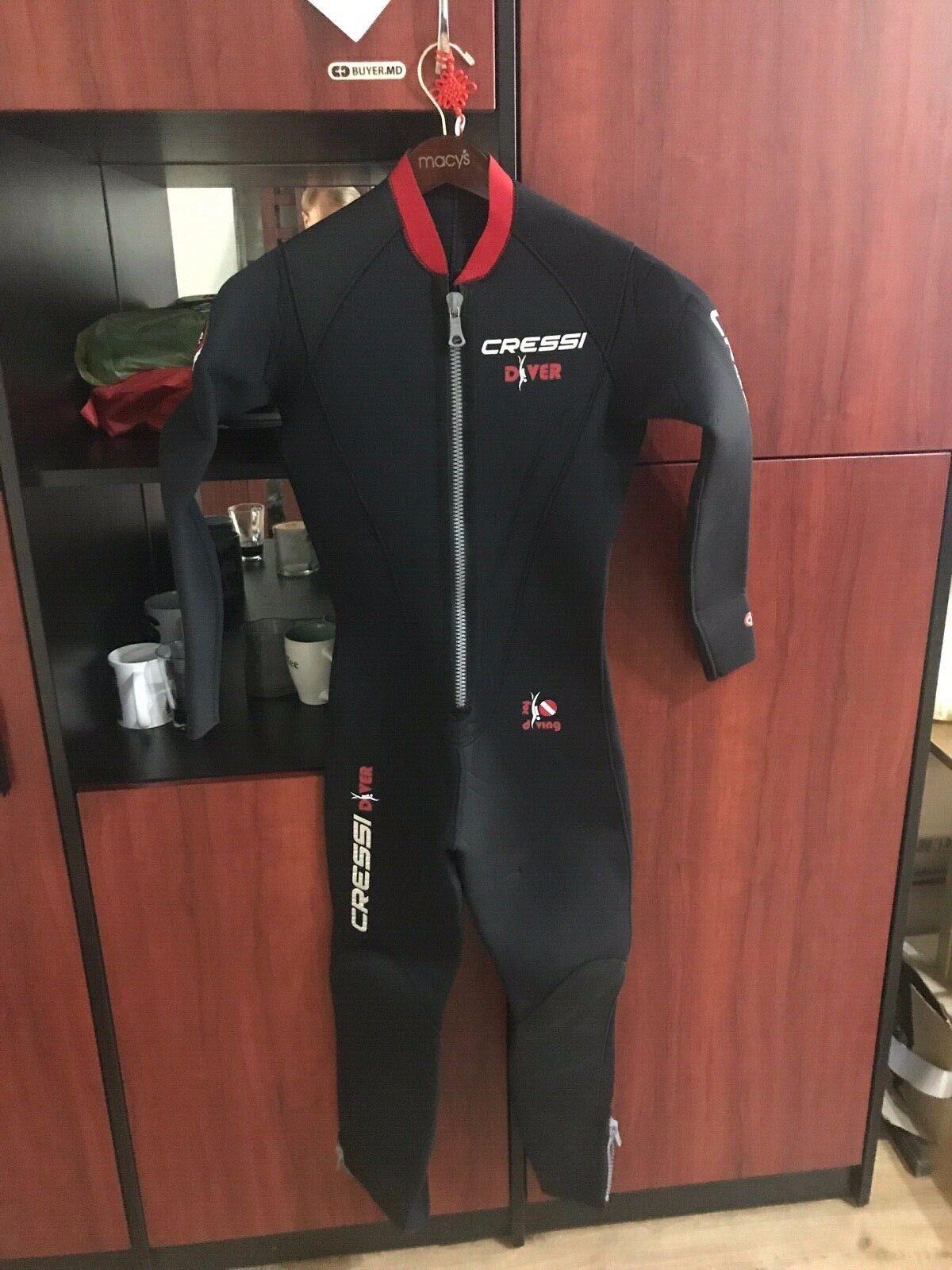 Cressi Diver Wetsuit 5mm Neopren Man Lady Größe S 2