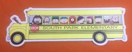 SOUTH PARK BUS bumper sticker Full Cast