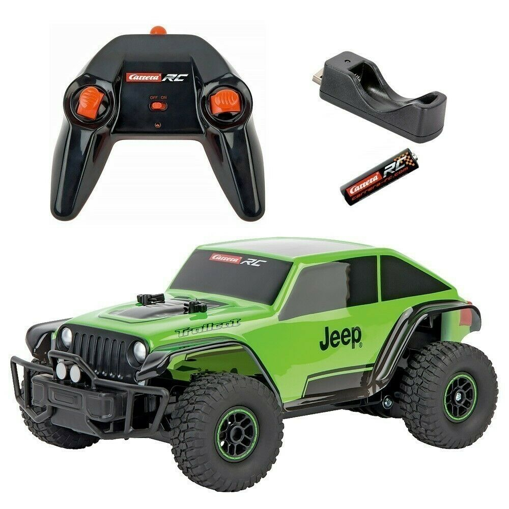 Carrera RC 1 18 JEEP TRAILCAT Kids USB Rechargeable Off Off Off Road Toys schwarz rot Car 7df664