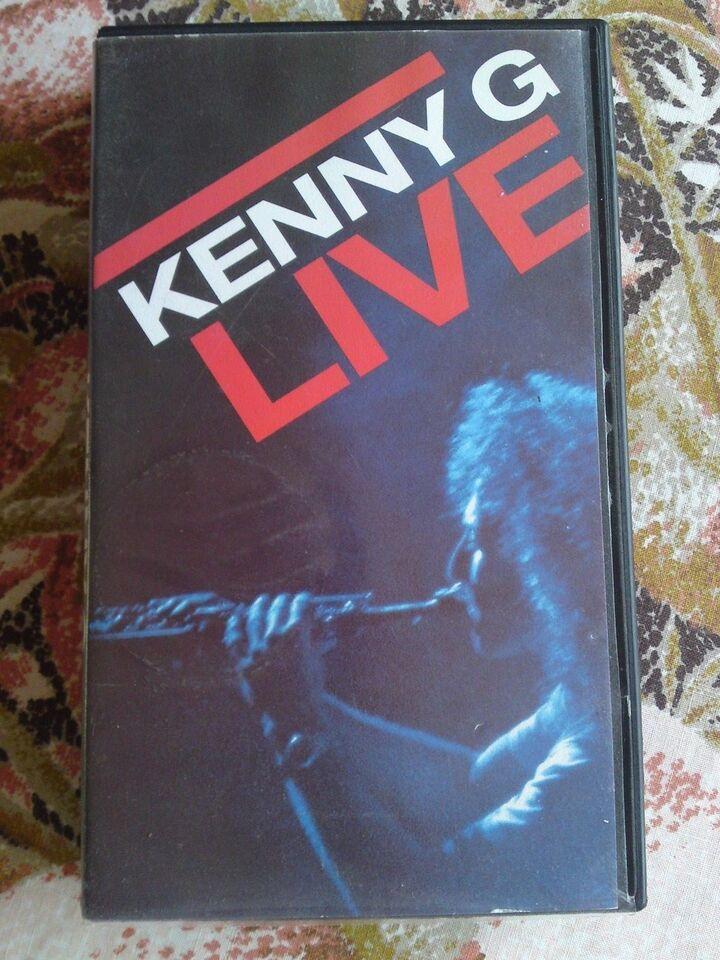 Musikfilm, Kenny G live, instruktør nigel dick