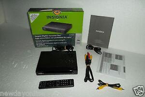 insignia digital converter box to analog tv w remote control a v rh ebay com Insignia DTV Tuner User Manual Insignia Converter Box Remote Control