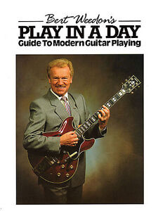Burt-Weedon-039-s-Play-In-A-Day-Guide-To-Modern-Guitar-Playing-Beginner-Music-Book