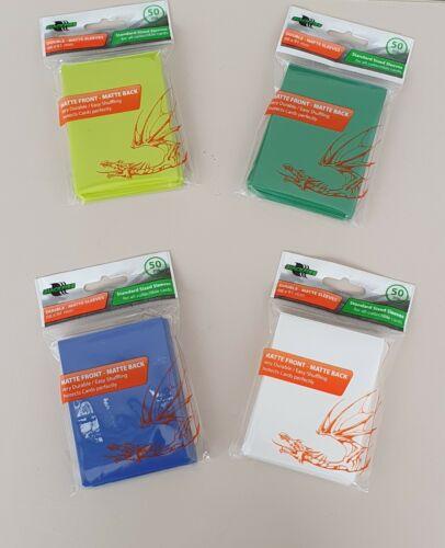YugiOh 50x Kartenhüllen für Sammelkarten  Magic Pokemon versch Farben