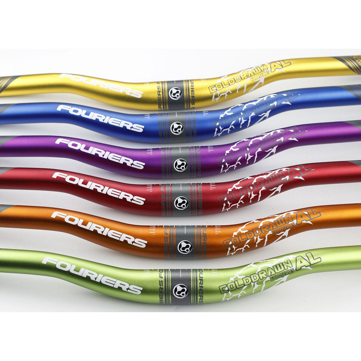 AM FR XC DH Enduro Riser Handlebar 31.8mm x 720mm 20mm Rise Bar Alloy Fouriers
