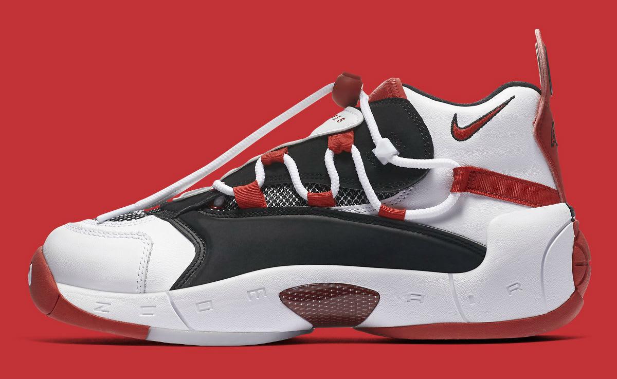 Nike Damen Wmns Air Swoopes 2 University rot 917592 100 Neu Schuhe Gr.40,5
