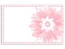 Pink Hawaiian Hibiscus Blank Florist Enclosure Cards Small Tags 50ct