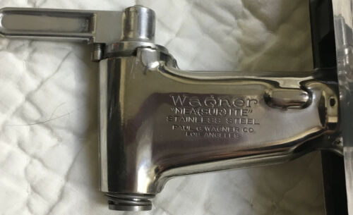 Vintage Wagner Mea-sur-ite Dispenser Stainless Steel Faucet