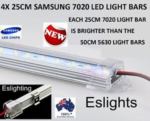 4x 25cm led strip light bar tool box work shed bench 4wd ute camping image is loading 4x 25cm led strip light bar tool box aloadofball Image collections
