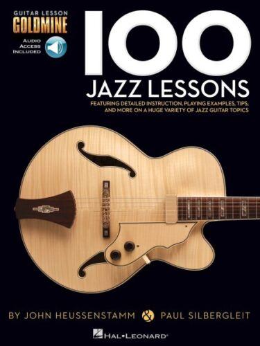 100 Jazz Lessons Guitar Lesson Goldmine Series Guitar Educational Bo 000696454
