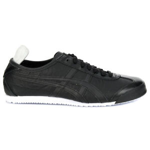 ASICS Unisex Mexico 66 Black/Black Sneakers 1183A443.001 NEW