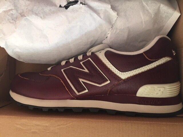 New Balance NB ML574LUD Gr:42 Classic Medium D Originals Sneaker Classic Gr:42 NEU Bordeaux 84b12a