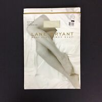 Lane Bryant Day Sheer Pantyhose Plus Size B Off White Nylon Made In Usa