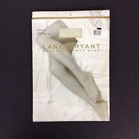 Lane Bryant Day Sheer Pantyhose Plus Size B Off White Nylon Made In Usa