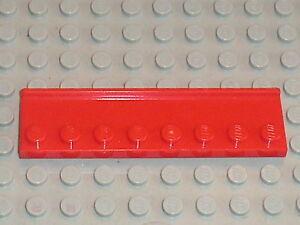 Set  FARM 7637 LEGO red plate 2 x 8 with door rail 30586 8185 NINAGO 2507