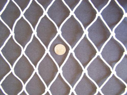 "75/' x 3 1//2/' Safety Treehouse Railing Nylon Netting 2/"" #48 Twine 480 lb test"