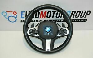 BMW-M-SPORTS-Volant-de-Direction-en-Cuir-Vibration-Shift-Pagaies-G-Series
