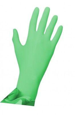 Analytisch Nitril Handschuhe Handschuh Mint Uniglove Pearl Latexfrei Einmalhandschuhe Grün