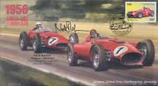 1956c LANCIA Ferari D50 & Maserati, Nurburgring, firmado Nick Mason Pink Floyd