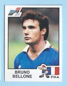 FIGURINA-CALCIATORI-PANINI-EURO-84-RECUPERO-N-55-BELLONE-FRANCE