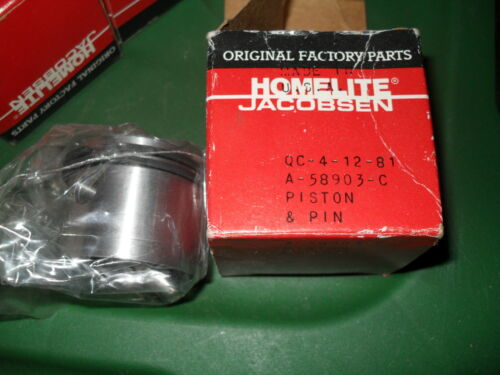 NOS oem Homelite A-58903-C Piston ring kit XL-12 vintage chainsaw XLS 1.54 Pump