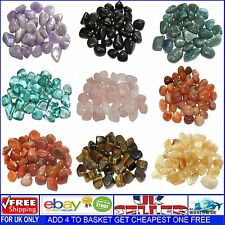 Healing Crystal Gemstone Tumblestone Reiki Chakra Tumbled Stone x 1 - 10-20mm