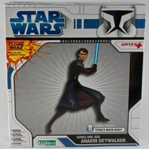 StarWars Clone Wars Artfx Series One jedi Anakin Skywalker Kotobukiya