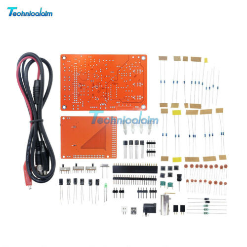 "2.4/"" TFT DSO138 Oscilloscope Acrylic Case Soldered+LHT00SU1 USB Logic Analyzer"
