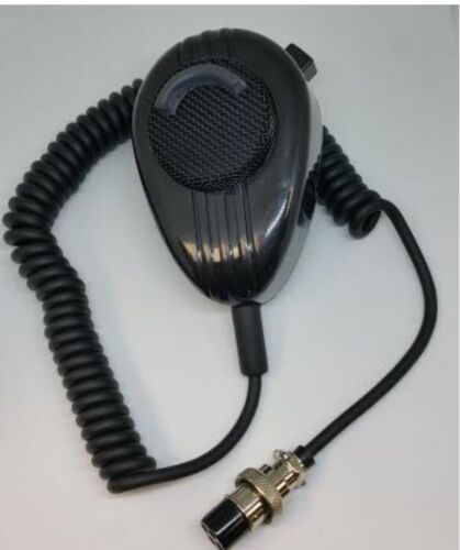 UNIDEN CB RADIO MICROPHONE BLACK NOISE CANCELLING WORKMAN SS56 5 PIN COBRA