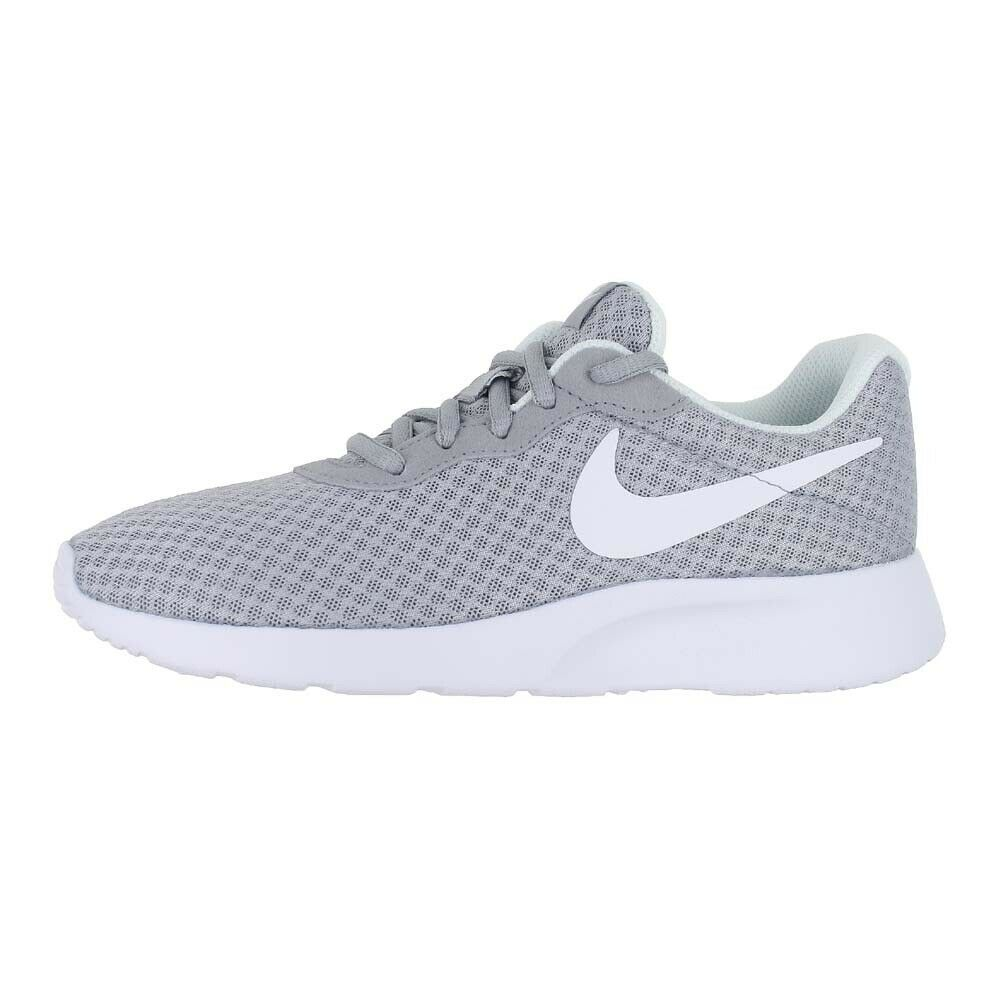 NIKE NIKE NIKE WMNS TANJUN WOLF GREY WHITE 812655 010 WOMENS US SIZES 10399a