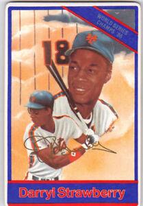 86-Sports-Impressions-DARRYL-STRAWBERRY-Porcelain-card