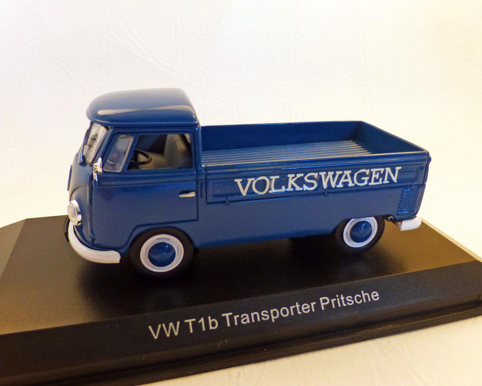 VW Bus T1B Transporter Flatbed, Norev 1 43