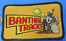 PATCH Bantha Tracks Star Wars '03 vtg FAN CLUB 2.5x4 in MINT Tusken Raider