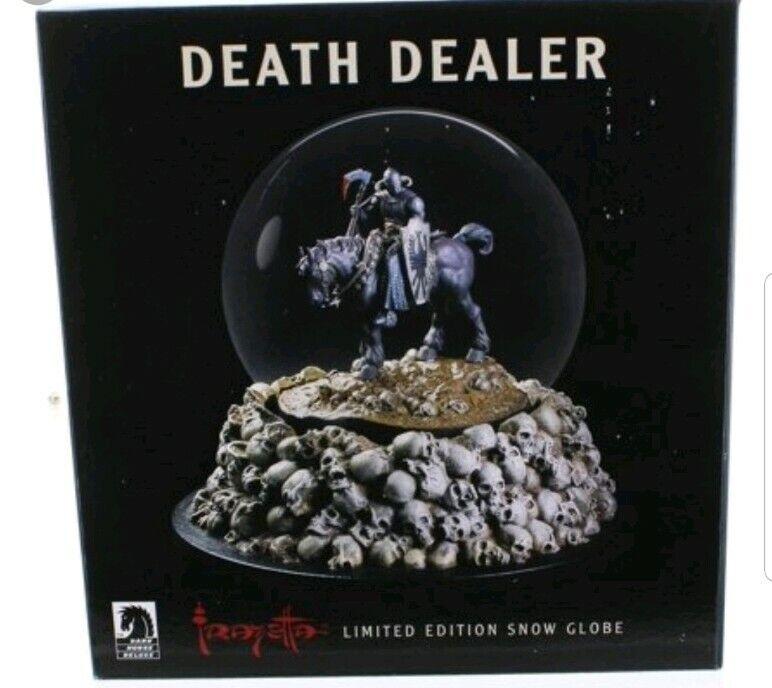 La muerte de Frank Frazetta Distribuidor snowglobe Totalmente Nuevo En Caja Dark Horse