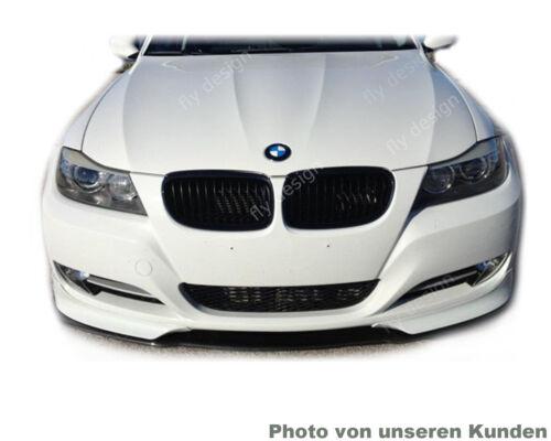 für BMW E91 E90 08-11 Tuning Frontspoiler Front Lippe Splitter Flaps LACK 475