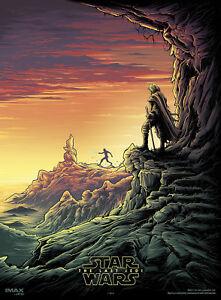 star wars the last jedi movie poster imax high resolution canvas