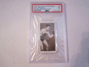 1938-DAVE-CROWLEY-9-WA-amp-AC-CHURCHMAN-BOXING-CARD-PSA-GRADED-PSA-5-BN-20