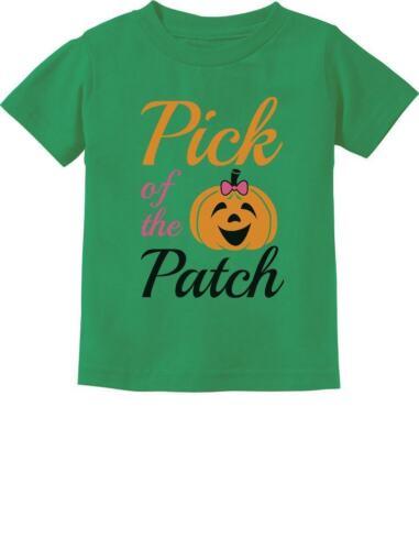 Pick of The Patch Cute Little Pumpkin Girls Toddler Kids T-Shirt