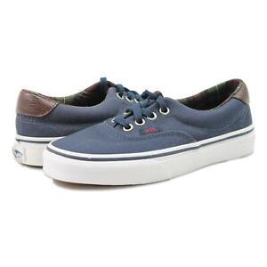 Vans Era 59 calzado de vestir para hombre de cuadros Blues 3.5 Nuevo