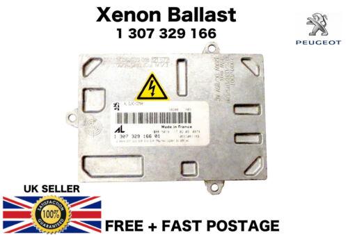 PEUGOET 308 RCZ CITROEN Xenon Phare 4 broches ballast unité de contrôle 13073291354