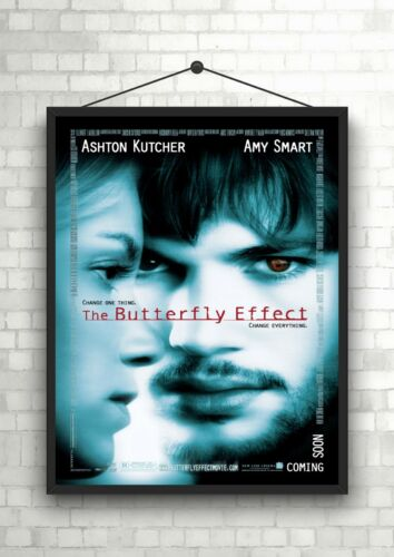 the Butterfly Effect Classic Large Movie Poster Art Print A0 A1 A2 A3 A4 Maxi