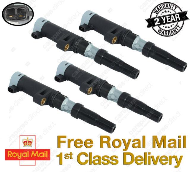 4X FOR RENAULT MEGANE CLIO TRAFIC LAGUNA SCENIC PENCIL IGNITION COIL PACKS K5O6